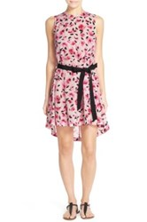 Kate Spade 'Bay Of Roses' Print Cover Up White
