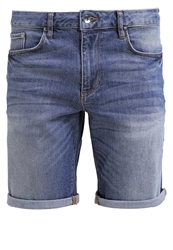 Minimum Samden Denim Shorts Dark Blue Blue Denim