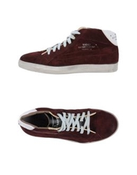 Primabase High Tops And Trainers Maroon