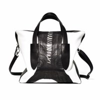 Volver Design Group Spectator Bowery Satchel Black And White