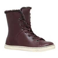 Ugg Croft Lace Up High Top Trainers Dark Brown