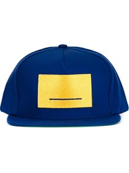 Pigalle Embroidered Panel Cap Blue