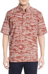 Men's Reyn Spooner 'I A Ku' Classic Fit Short Sleeve Sport Shirt