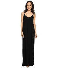 Culture Phit Ellie Spaghetti Strap Maxi Dress Black Women's Dress