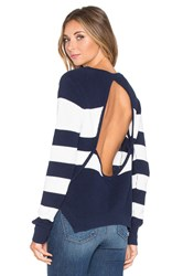 Lovers Friends X Revolve Bright Sea Sweater Navy