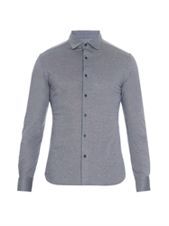 Ermenegildo Zegna Long Sleeved Polo Shirt