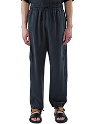 Abasi Rosborough Arc Chrysalis Relaxed Fit Pants Black