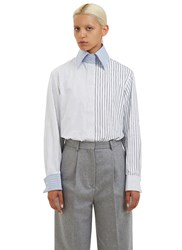 Acne Studios Slade Striped Shirt White