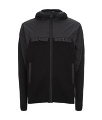 Porsche Design Hooded Knit Jacket Black