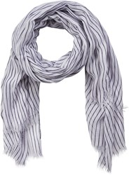 Soaked In Luxury Striped Scarf