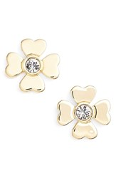 Women's Kate Spade New York Four Leaf Clover Studs