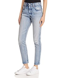 Levi's 501 Skinny Jeans In Summer Dune Light Blue