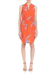Tory Burch Pylos Chelsea Dress Poppy Red