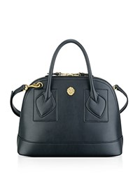 Anne Klein Small Billie Dome Satchel Black