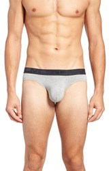 Andrew Christian Men's Almost Naked Briefs Heather Grey