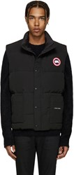 Canada Goose Black Down Freestyle Vest