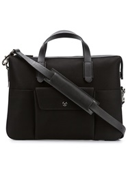 Mismo Front Pocket Briefcase Black