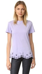 Carven T Shirt Lilas