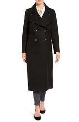 Michael Michael Kors Women's Maxi Double Breasted Wool Blend Coat