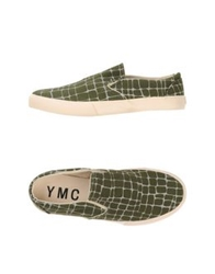 Ymc You Must Create Low Tops And Trainers Military Green
