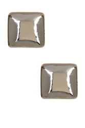 14Th And Union Square Crown Stud Earrings Metallic