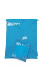 Flight 001 Go Clean Laundry Bag Turquoise