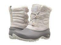 The North Face Shellista Ii Shorty Dove Grey Q Silver Grey Women's Lace Up Boots Gold