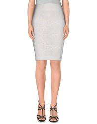 Paolo Errico Skirts Knee Length Skirts Women White