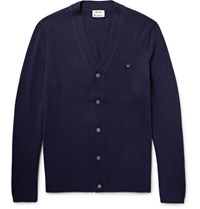 Acne Studios Tudio Daher Wool Cardigan Navy