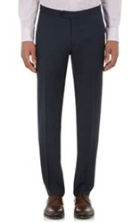 Isaia Gregory Trousers Blue