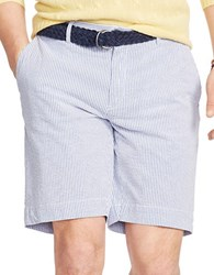 Polo Ralph Lauren Classic Fit Striped Seersucker Shorts Blue