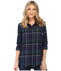 Vans Meridian Flannel Blue Eclipse Women's Clothing