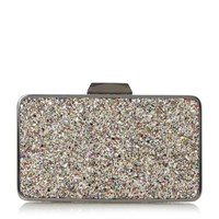 Head Over Heels Belvire Mat Interest Box Clutch Bag Multi Coloured Multi Coloured