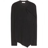 Balenciaga Wool And Cashmere Sweater Noir