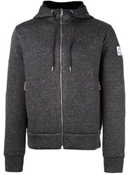 Moncler Gamme Bleu Hooded Sweatshirt Grey