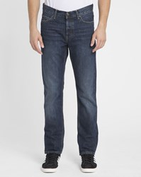 Carhartt Faded Natural Blue Texas Hanford Tapered Fit Jeans