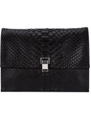 Proenza Schouler 'Lunch' Clutch Black