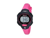 Timex Sport Ironman Pink And Black Mid Size 10 Lap Watch Black Hot Pink Watches