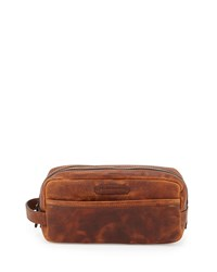 Logan Leather Travel Kit Cognac Red Frye