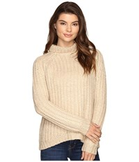 Blank Nyc Turtleneck Sweater In Afternoon Delight Afternoon Delight Women's Sweater Pink