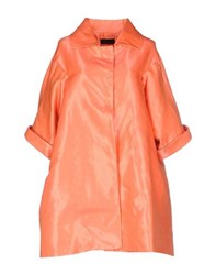Jo No Fui Coats And Jackets Full Length Jackets Women Coral