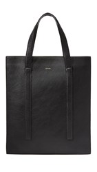 Paul Smith Runway Accordion Tote Black White