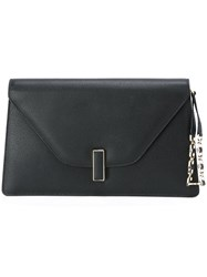 Valextra Envelope Clutch Black