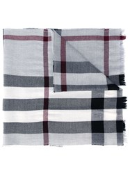 Burberry Checked Scarf Multicolour