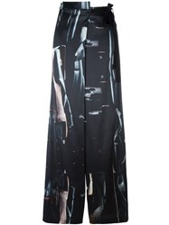 Ann Demeulemeester Palazzo Trousers Black