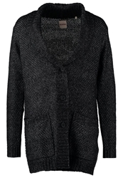 Kiomi Cardigan Dark Grey Mottled Anthracite
