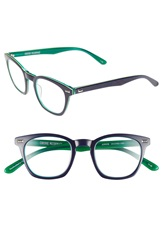 Corinne Mccormack 'Annie' 46Mm Reading Glasses Blue Green