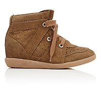 Etoile Isabel Marant Women's Bobby Wedge Sneakers Tan