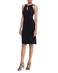 Ralph Lauren Keyhole Dress Black