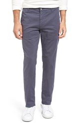 Ag Jeans Men's 'The Lux' Tailored Straight Leg Chinos Matte Lead